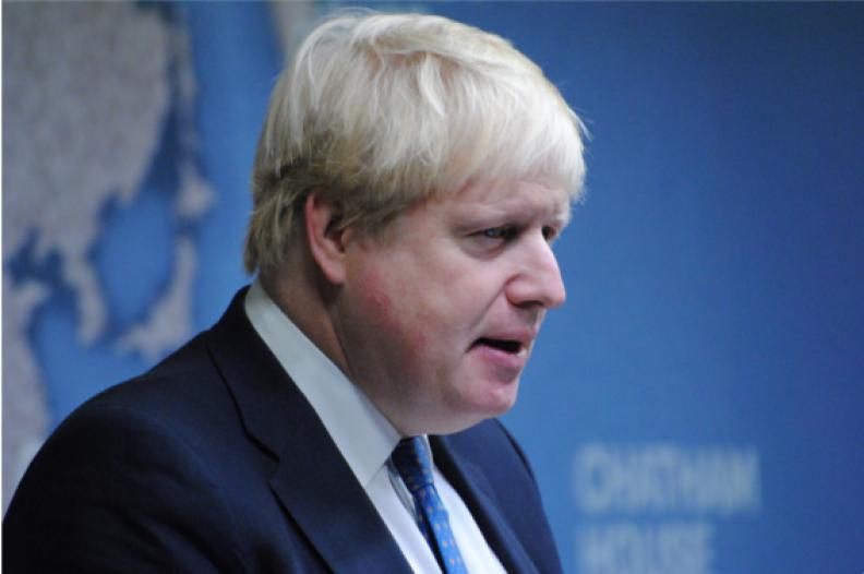 Boris Johnson, Minister Spraw Zagranicznych Wielkiej Brytanii. Źródło: Flickr