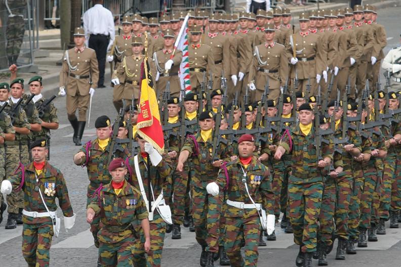 Belgijska armia. Źródło: Wikimedia