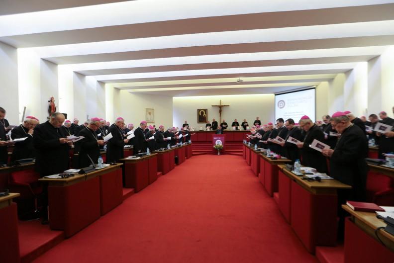 Zebranie plenarne polskich biskupów. Fot.: episkopat.pl