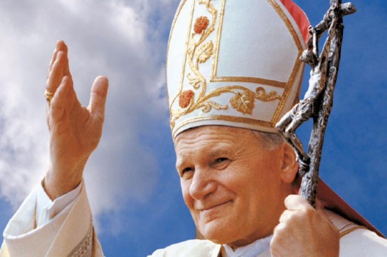 Św. Jan Paweł II. Fot.: Adam Bujak
