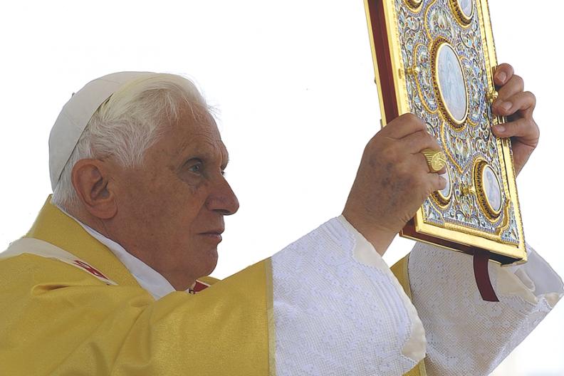 Ojciec Święty Benedykt XVI. Fot.: Archiwum Białego Kruka