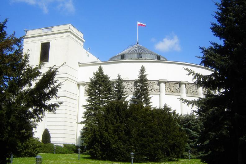 Sejm Rzeczypospolitej Polski. Źródło: Wikimedia
