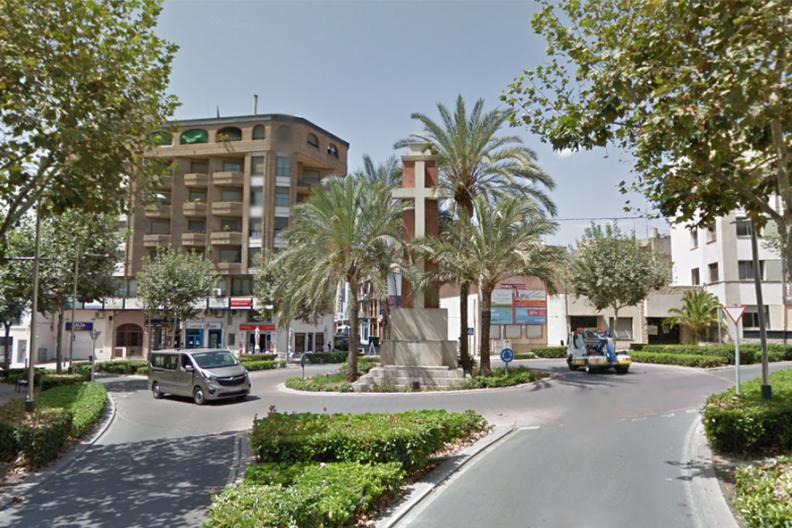Vall d'Uixó, Plaza de la Paz. Fot.: Google