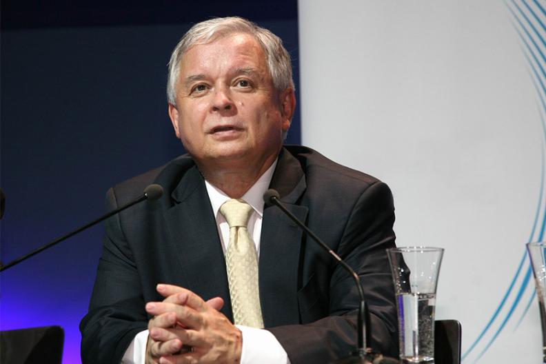 Prezydent Lech Kaczyński. Fot.: Wikimedia