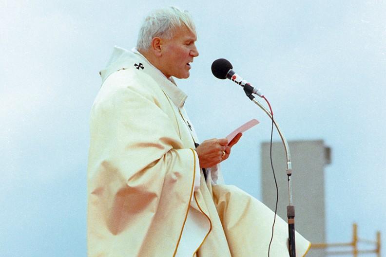św. Jan Paweł II  Fot.: Archiwum Białego Kruka