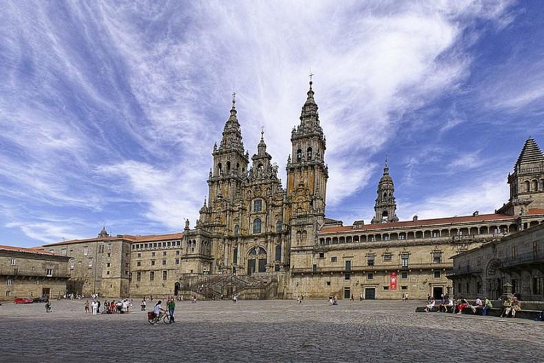 Katedra w Santiago de Compostela. Fot.: Wikimedia