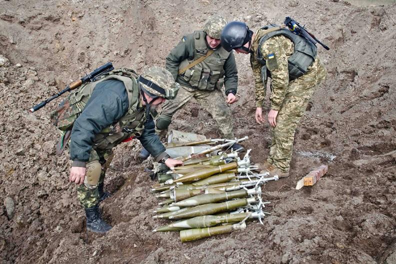 Ukraińscy żołnierze. Fot.: Wikimedia / Evgen Sylkin