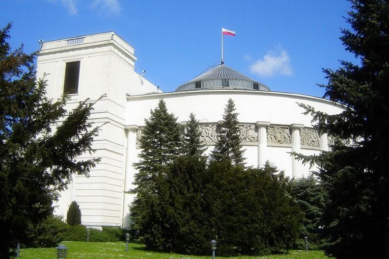Sejm Rzeczypospolitej Polskiej. Fot.: Wikimedia
