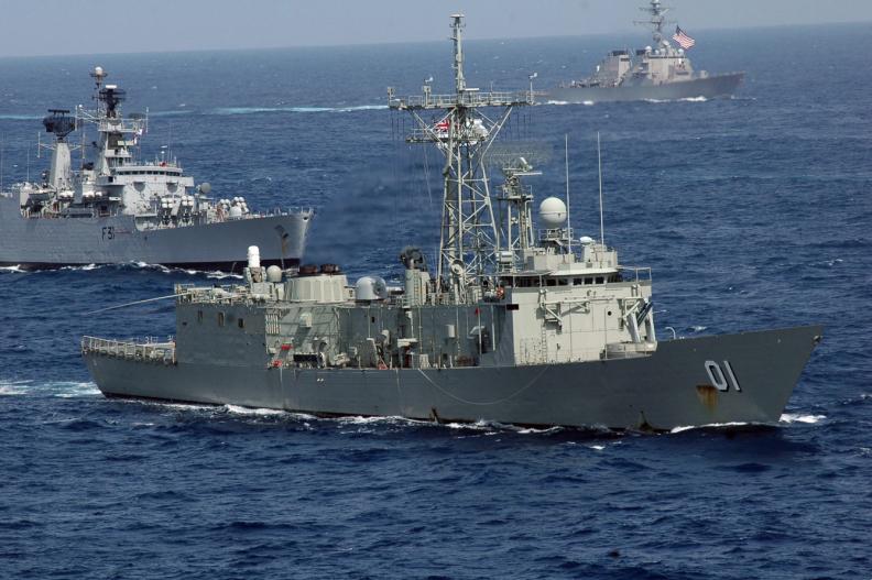 Australijska fregata typu Adelaide.