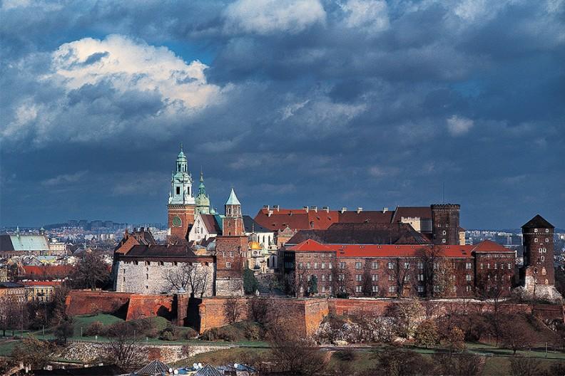 Zamek Królewski na Wawelu Fot.: Adam Bujak