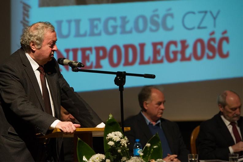 Przewodniczący Zarządu Regionu Małopolskiej Solidarności Wojciech Grzeszek