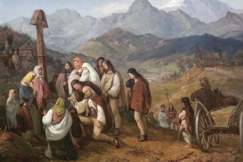 Źródło: Biały Kruk / Uczynki miłosierdzia - Kotsis, Pogrzeb górala.