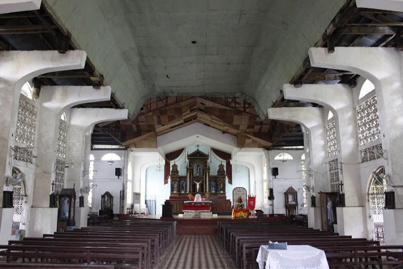 kościół w Balangiga Fot.: Wikimedia