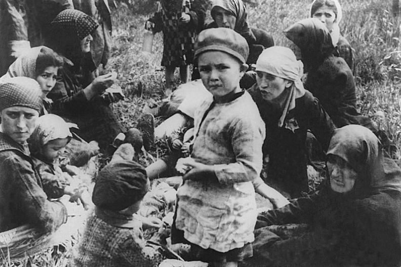Auschwitz II – Birkenau.  (Fot. SS, 1944 r.)