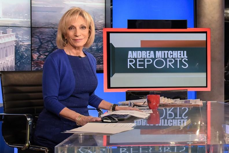 """Dziennikarka Andrea Mitchell, która stwierdziła, że w getcie warszawskim w 1943 r. Żydzi """"przez miesiąc walczyli przeciwko polskiemu i nazistowskiemu reżimowi"""".  Fot.: DHS/Public Domain"""