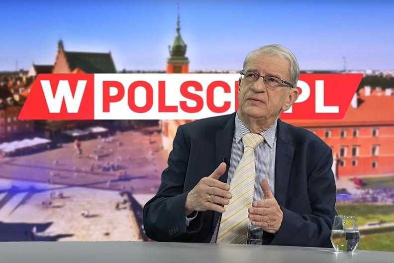 Gościem Edyty Hołdyńskiej był prof. Wojciech Roszkowski, który opowiedział o swojej najnowszej książce