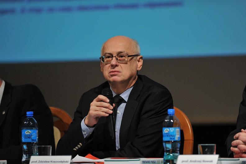 Prof. Zdzisław Krasnodębski Fot. Michał Klag/Biały Kruk