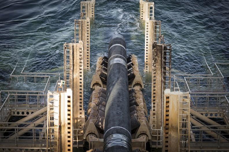 Budowa gazociągu Nord Stream 2 Fot. Nord Stream 2/Axel Schmidt