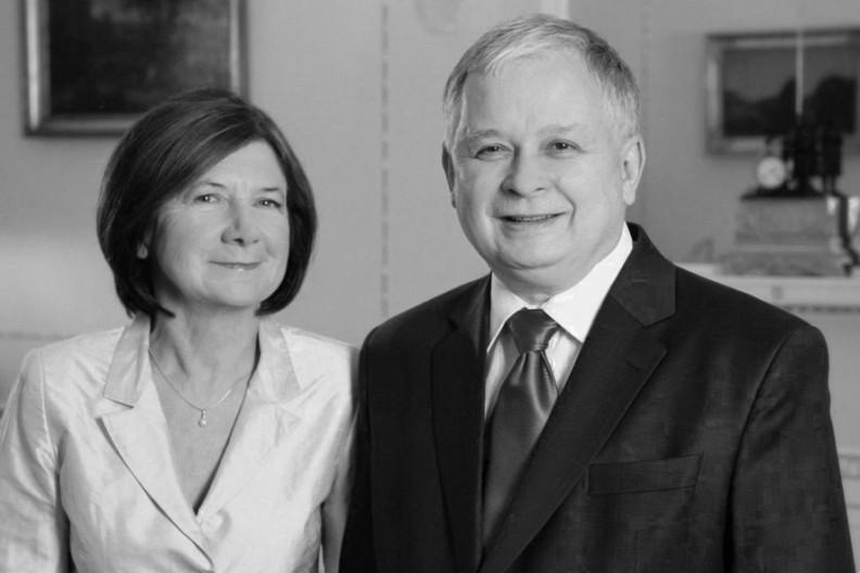 Maria i Lech Kaczyńscy  Fot.: KPRP
