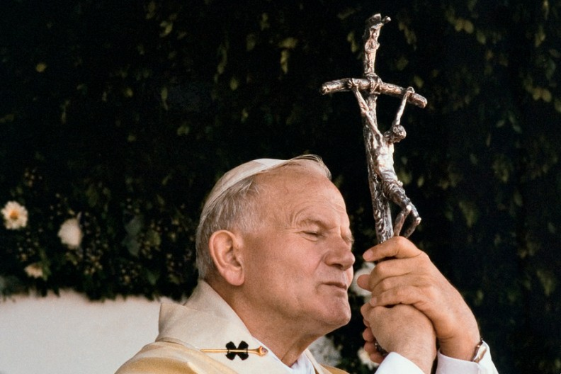 Ojciec Święty Jan Paweł II Fot. Archiwum Białego Kruka