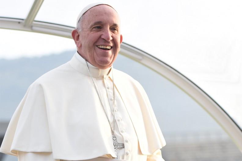 Papież Franciszek  Fot. Paese Sera Toscana@Flickr