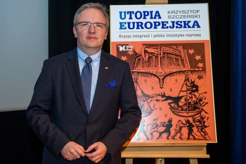 Prof. Krzysztof Szczerski, szef gabinetu prezydenta RP i autor książki