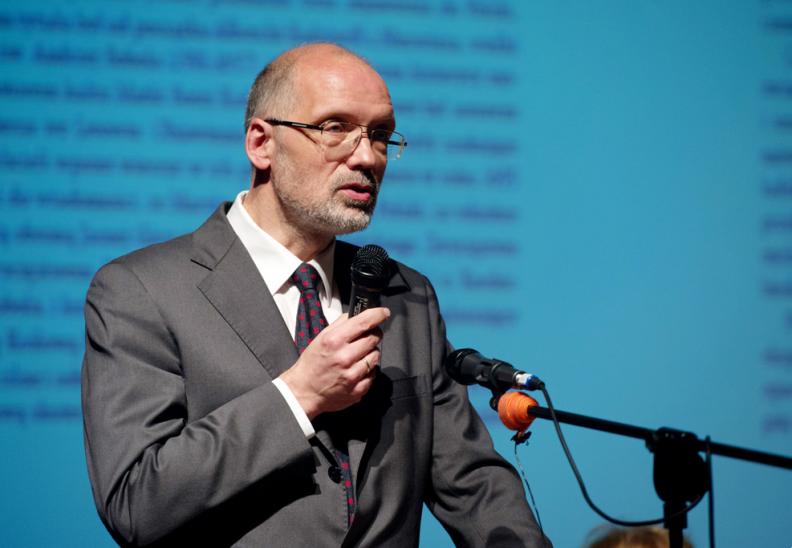 Prof. Andrzej Nowak. Fot.: Biały Kruk
