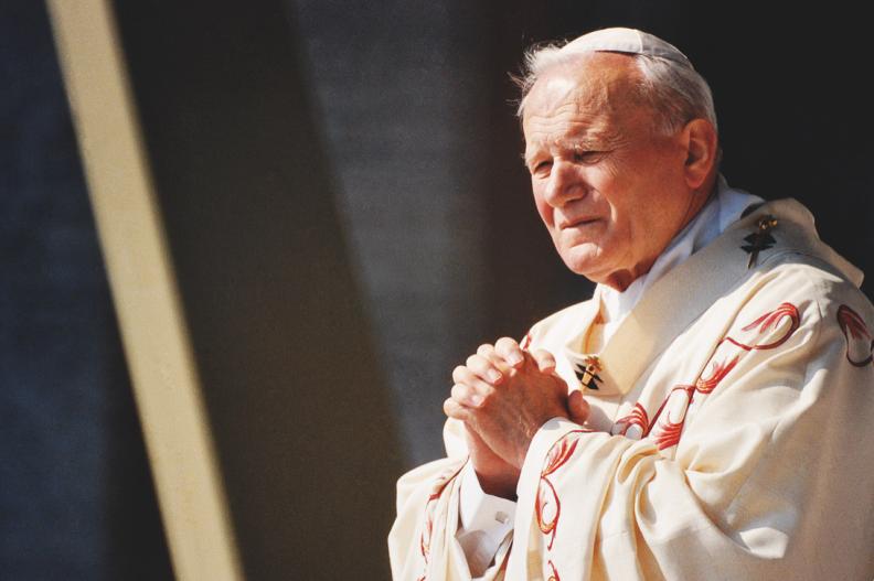 Św. Jan Paweł II. Fot.: Adam Bujak/Biały Kruk
