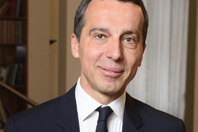 Christian Kern  Fot. Wikimedia/SPÖ Presse und Kommunikation