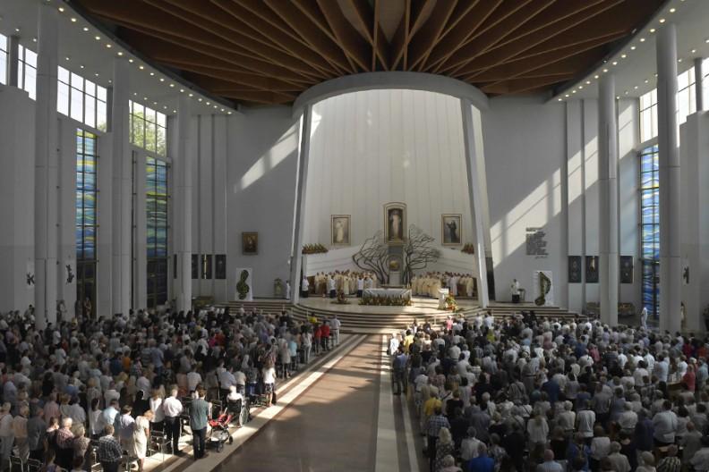Sanktuarium Bożego Miłosierdzia w Krakowie-Łagiewnikach   Fot. Adam Bujak/Archidiecezja Krakowska