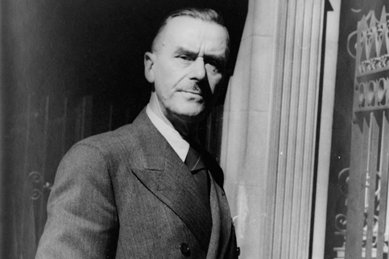 Thomas Mann  Fot. Wikimedia