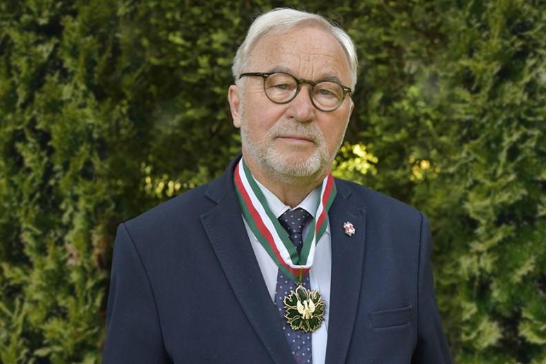 Mistrz Adam Bujak uhonorowany Złotym Medalem Gloria Artis  Fot. Ewa Bujak