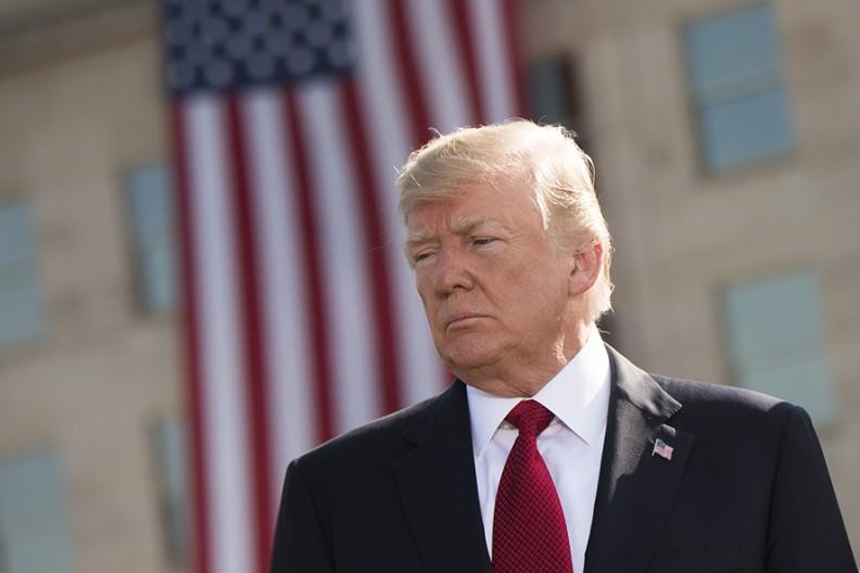 Prezydent Donald Trump  Fot. Wikimedia
