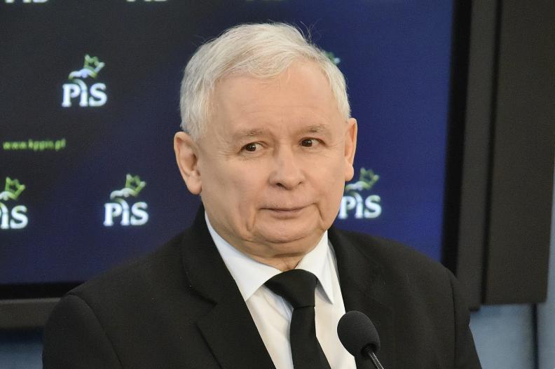 Prezes Prawa i Sprawiedliwości Jarosław Kaczyński. Fot.: Adrian Grycuk/CC-BY-SA-3.0-PL