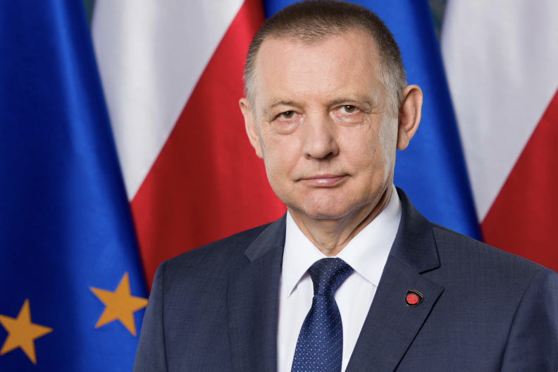 Minister finansów Marian Banaś.