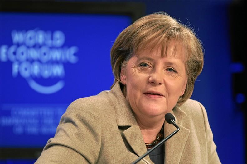 Angela Merkel Fot. Wikimedia