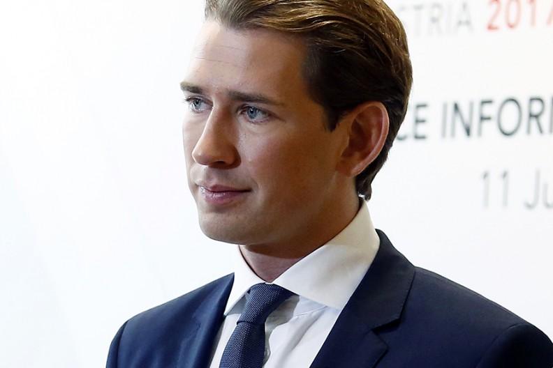 lider partii ÖVP Sebastian Kurz  Fot. Wikimedia