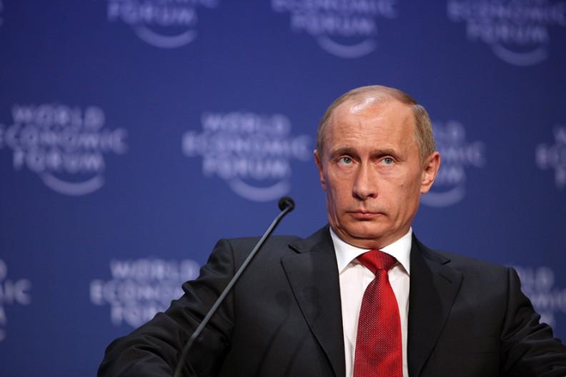Prezydent Federacji Rosyjskiej Vladimir Putin. Fot. Wikimedia