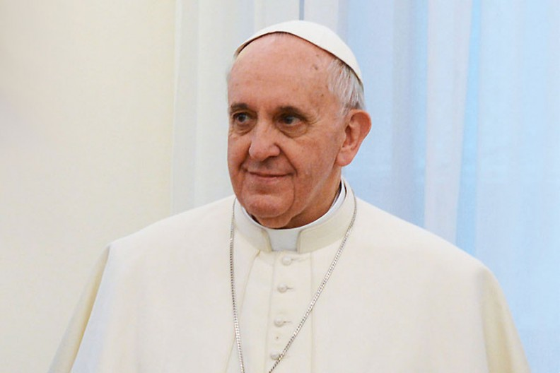 Papież Franciszek  Fot. Wikimedia/Casa Rosada