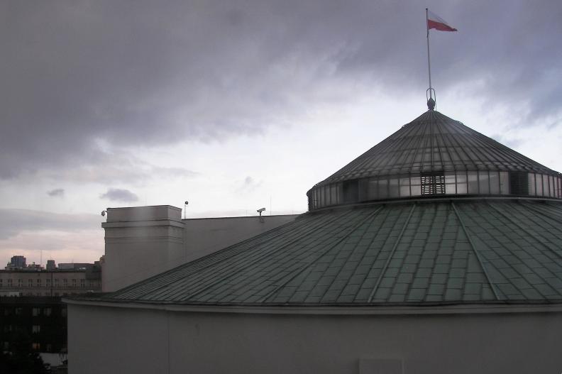 Gmach polskiego Sejmu.