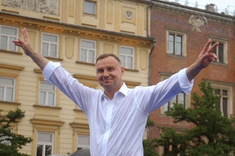 Prezydent RP Andrzej Duda   Fot. Adam Wojnar
