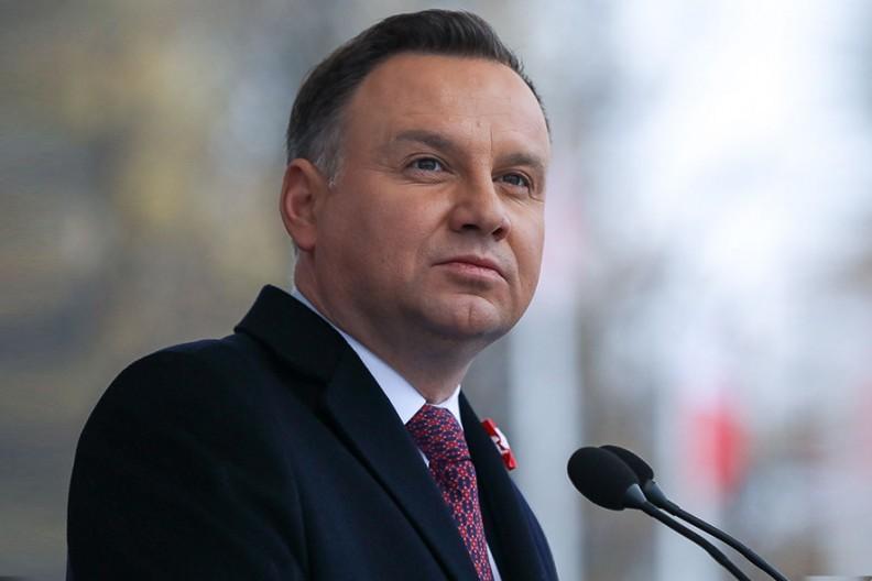 Prezydent RP Andrzej Duda   Fot. Jakub Szymczuk / KPRP