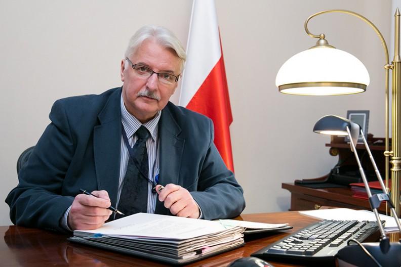 Poseł Europarlamentu Witold Waszczykowski   fot. Wikimedia / Karolina Siemion-Bielska MSZ PL