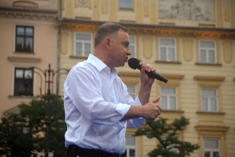 prezydent Andrzej Duda, fot. Adam Wojnar
