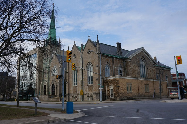 Katedra św. Katarzyny Aleksandryjskiej w St. Catharines w prowincji Ontario (Kanada)  Fot. Wikimedia
