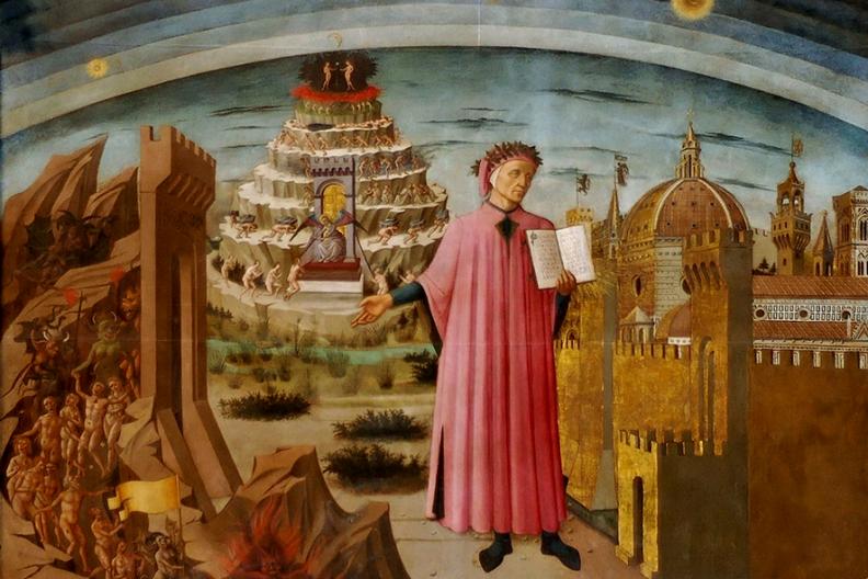 Boska komedia Dantego Alighieri  Fot. Wikimedia