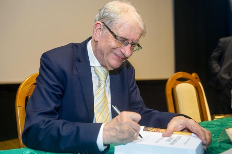 Prof. Wojciech Roszkowski, fot. Michał Klag Biały Kruk