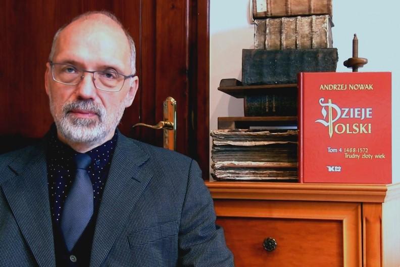 prof. Andrzej Nowak, fot. Biały Kruk