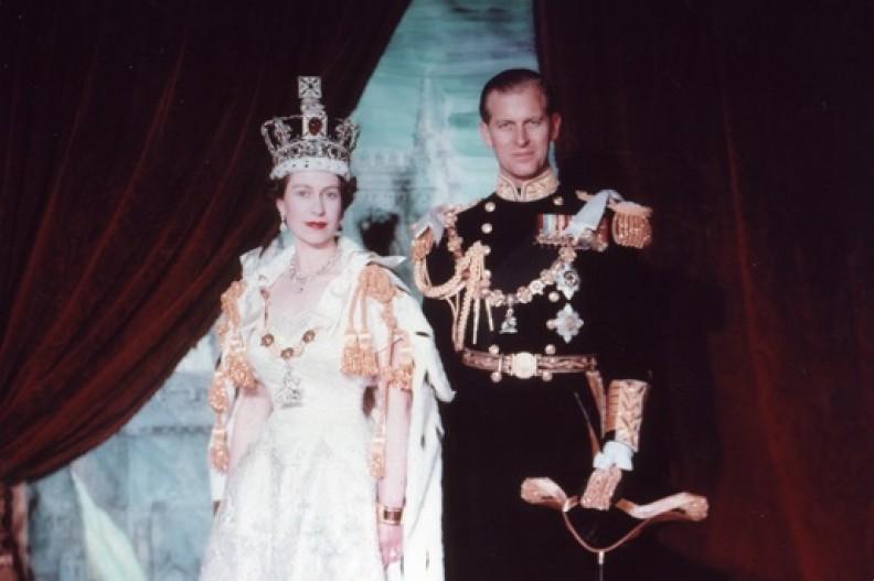 Królowa Elżbieta i książę Filip. fot. Wikipedia