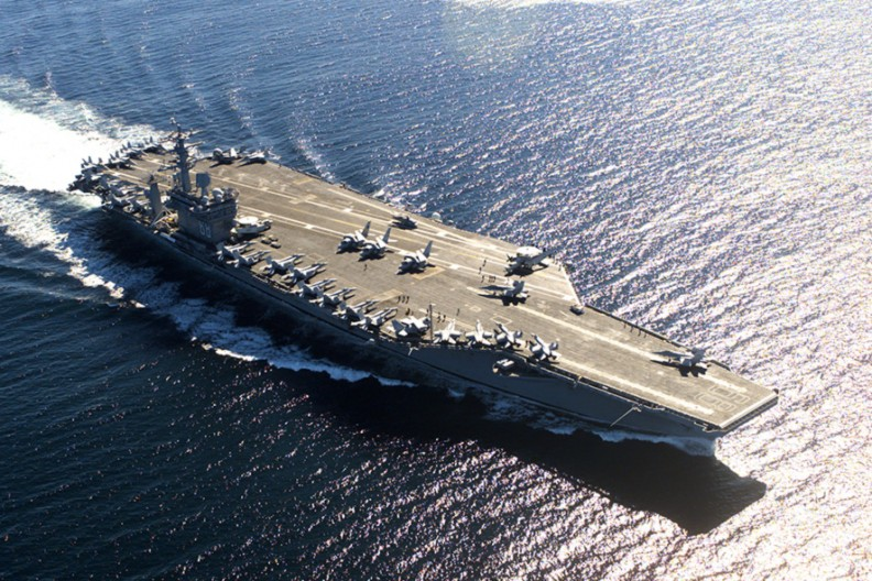 USS Nimitz  Fot. Wikimedia